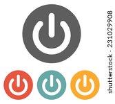 start power icon | Shutterstock .eps vector #231029908