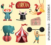 Circus Decorative Set With Ten...