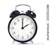 alarm clock  | Shutterstock . vector #231031288