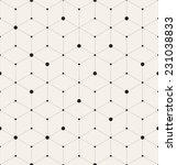vector seamless pattern. modern ... | Shutterstock .eps vector #231038833