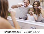 keeping your teeth in good... | Shutterstock . vector #231046270