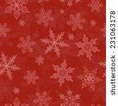 Red Christmas Seamless...