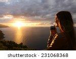 Traveler Tourist Girl Taking...