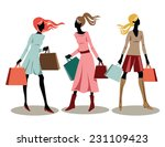 vector illustration of young... | Shutterstock .eps vector #231109423