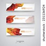 business design templates. set... | Shutterstock .eps vector #231136924