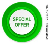 special offer icon  | Shutterstock . vector #231143788