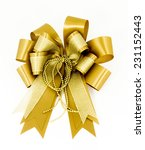 gold bow | Shutterstock . vector #231152443