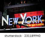 new york signage made from neon ...