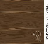 the brown wood texture. vector... | Shutterstock .eps vector #231194038
