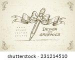 art design graphics sketch... | Shutterstock .eps vector #231214510
