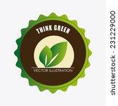ecology design over white...   Shutterstock .eps vector #231229000