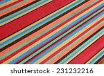 colorful vintage mexican... | Shutterstock . vector #231232216
