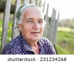 Portrait Of Senior Country...