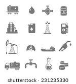 oil industry gasoline... | Shutterstock .eps vector #231235330