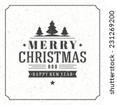 christmas background vector... | Shutterstock .eps vector #231269200