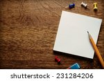 stack of small square blank...   Shutterstock . vector #231284206