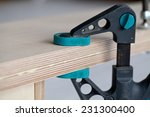 Real Woodworking Shop  Clamps...