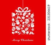 christmas card  | Shutterstock .eps vector #231306619