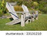 adirondack chairs | Shutterstock . vector #23131210