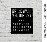 Brick Traced Texture  Stencil...