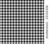 Seamless Pixel Hounds Tooth...