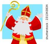 Cartoon Sinterklaas  Saint...