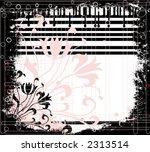 grunge floral | Shutterstock .eps vector #2313514