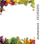 healthy food background  ... | Shutterstock . vector #231353353