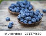 blueberries in garden | Shutterstock . vector #231374680