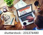 digital online marketing... | Shutterstock . vector #231376480