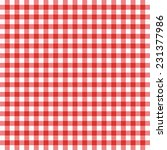 tablecloth vector background. | Shutterstock .eps vector #231377986