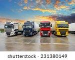 truck   freight transportation | Shutterstock . vector #231380149
