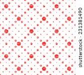 seamless pattern. simple... | Shutterstock .eps vector #231381490