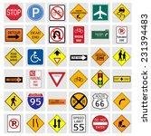illustration of various road... | Shutterstock . vector #231394483