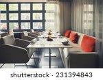 Empty Stylish Table In Dutch...