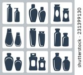 cosmetic containers vector... | Shutterstock .eps vector #231399130