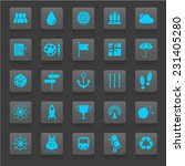 universal icons for web and... | Shutterstock .eps vector #231405280