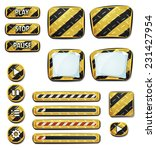 warning icons and elements for...
