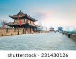 beautiful xian city wall and... | Shutterstock . vector #231430126