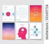 vector brochure design... | Shutterstock .eps vector #231437716