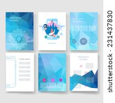 flyer  brochure design... | Shutterstock .eps vector #231437830