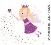 Cute Fairytale Purple Stars...