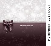 christmas greeting card. | Shutterstock .eps vector #231447934