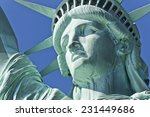 The Statue Of Liberty On...