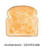 Single Slice Of Lightly Toaste...