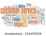 customer service marketing... | Shutterstock . vector #231455524
