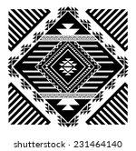 navajo   aztec big pattern... | Shutterstock .eps vector #231464140