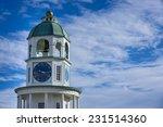 Halifax Clock Tower On Citadel...