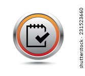 steel button to do vector icon | Shutterstock .eps vector #231523660