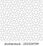 fashion ornamental seamless... | Shutterstock .eps vector #231524749